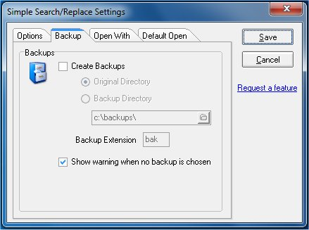 RJL Software - Software - Utility - Simple Search-Replace