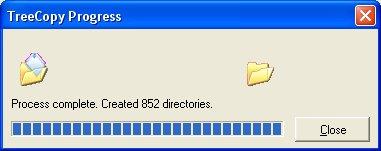 RJL Software - Software - Utility - TreeCopy - Screen Shots